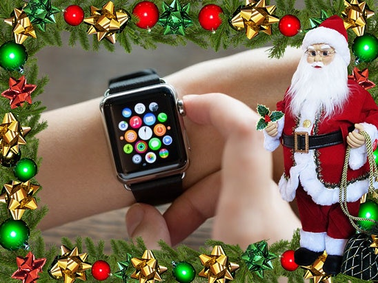 Christmas iwatch