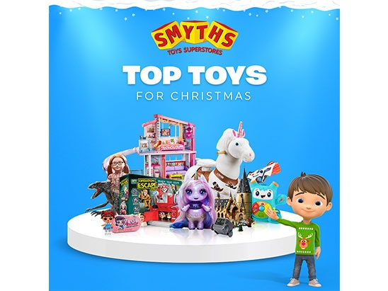 £50 Smyths Toys Superstores Voucher sweepstakes