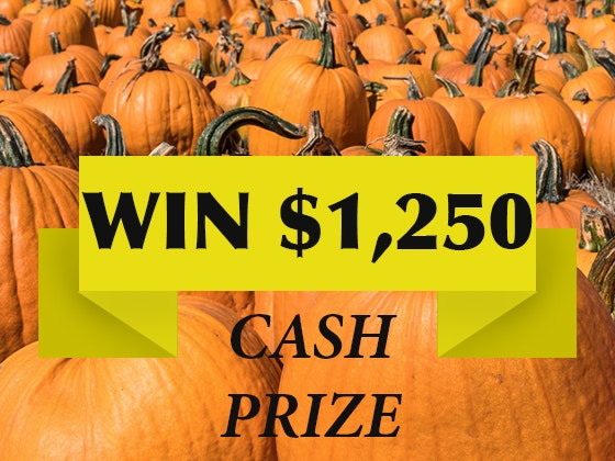 1,250 Cash October 2018 sweepstakes