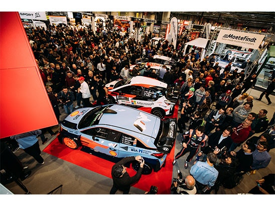 a Pair of Tickets to Autosport International and a Time Slot for the Live Action Arena sweepstakes