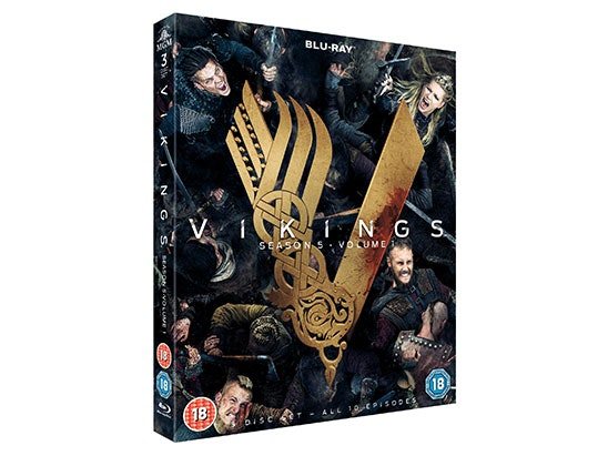 Vikings Season 5: Volume 1 Blu-Ray sweepstakes
