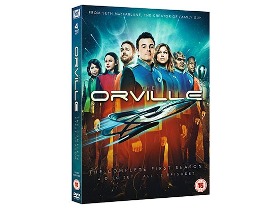 The Orville: The Complete First Season DVD sweepstakes