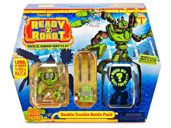 Ready 2 Robot Bundle (1 Battle Pack and 2 Single Packs) sweepstakes