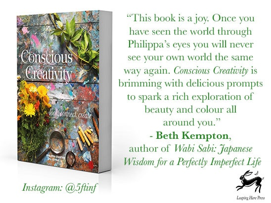Conscious Creativity: Look, Connect, Create Book sweepstakes