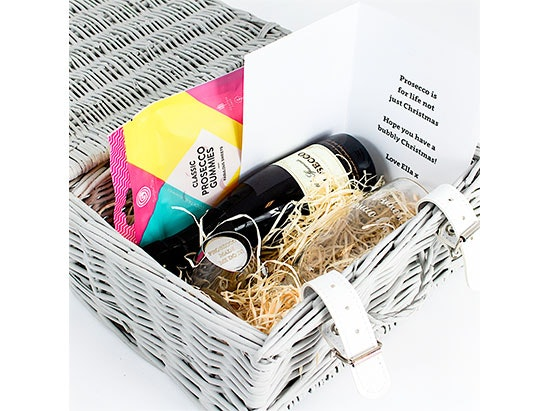 Personalised Prosecco Hamper sweepstakes