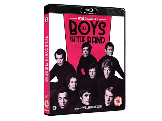 The Boys In The Band Blu-Ray sweepstakes