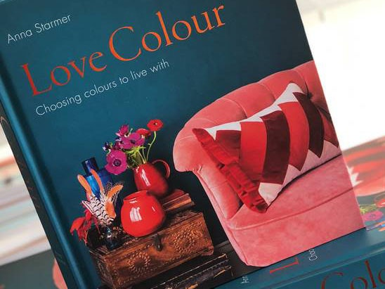 Love Colour: Choosing Colours to Live With by Anna Starmer sweepstakes