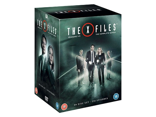 The X-Files Complete Series: Seasons 1-11 DVD Boxset sweepstakes