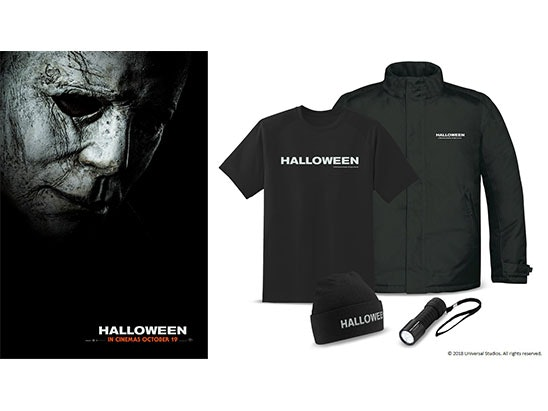 Halloween Merchandise Bundle sweepstakes
