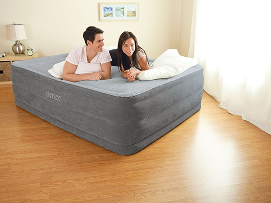 Intex Queen Comfort-Plush Elevated Airbed! sweepstakes