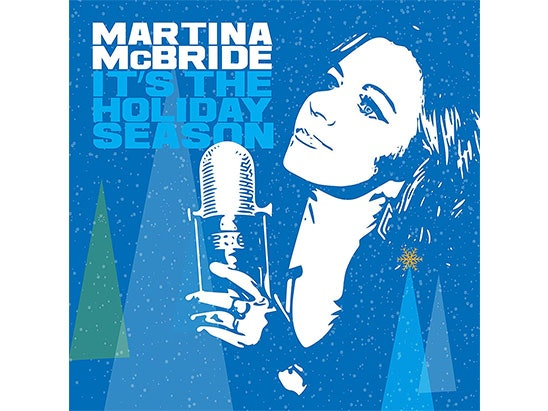 Martina McBride Christmas CD sweepstakes