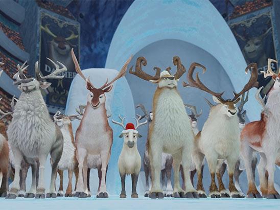 The Littlest Reindeer DVD sweepstakes