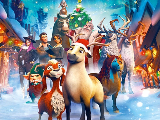 The Littlest Reindeer DVD sweepstakes