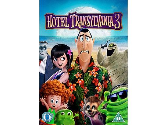 Hotel Transylvania 3 Blu-Ray sweepstakes