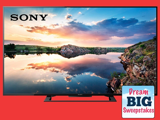 Dream Big Sweepstakes - Sony 4K Ultra HD TV! sweepstakes