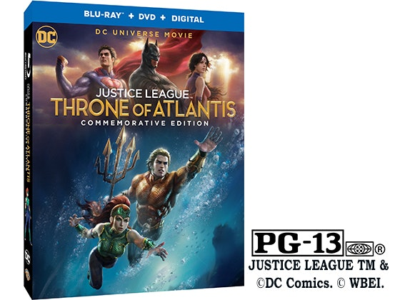 Justice League Throne of Atlantis sweepstakes