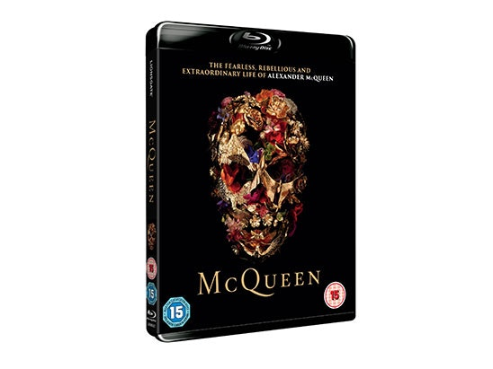 McQueen Blu-Ray and Lenticular sweepstakes