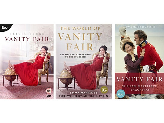Vanity Fair DVD and 2x books sweepstakes