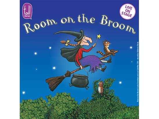 Family ticket to 'Room on the Broom' sweepstakes