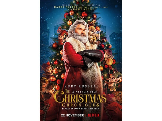 2 Tickets to the screening of The Christmas Chronicles sweepstakes