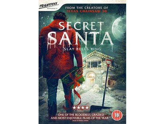 Secret Santa DVD sweepstakes