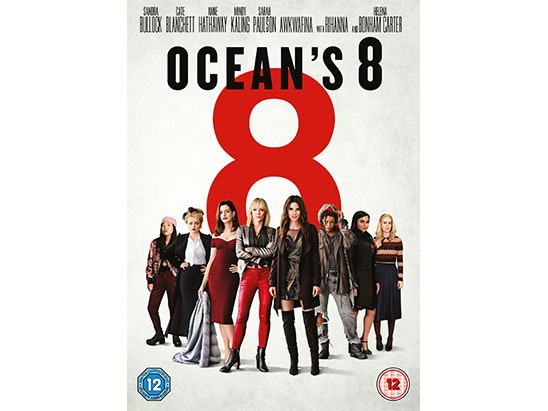 Ocean's 8 DVD sweepstakes