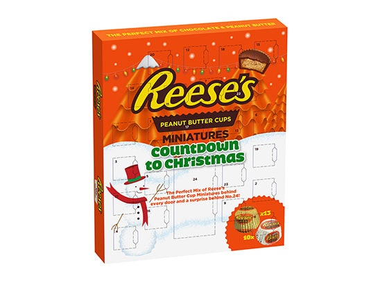 Reese's Advent Calendar sweepstakes
