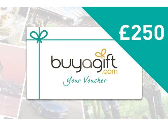 £250 Buyagift Voucher sweepstakes