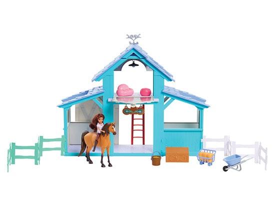 Spirit Riding Free Barn Playset sweepstakes