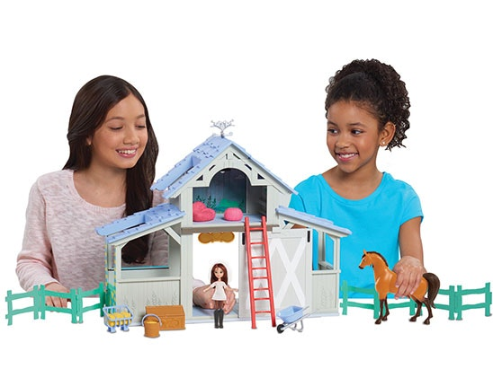 Spirit Riding Free Barn Playset sweepstakes