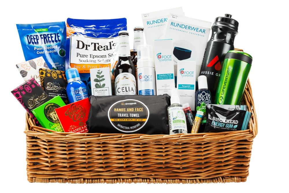 Trail Running hamper sweepstakes