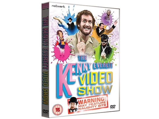 The Kenny Everett Video Show Boxset on DVD sweepstakes