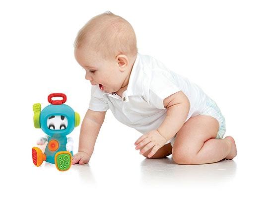 Infantino Sensory Discovery Robot sweepstakes