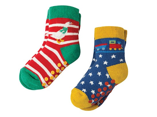 Frugi Organic Grippy socks sweepstakes
