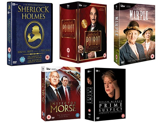 ITV Detective Boxsets sweepstakes