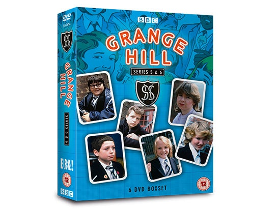 Series 5 & 6 Grange Hill DVD Box Sets sweepstakes
