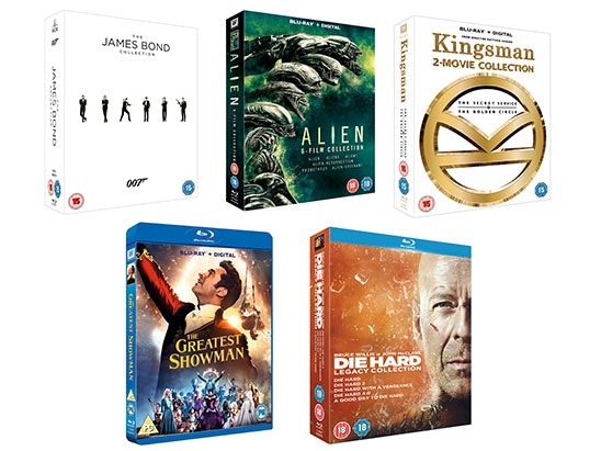 Classic Movie Favourites Blu-Rays sweepstakes