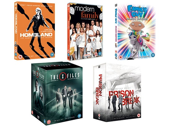 TV Favourites DVD Box Sets sweepstakes