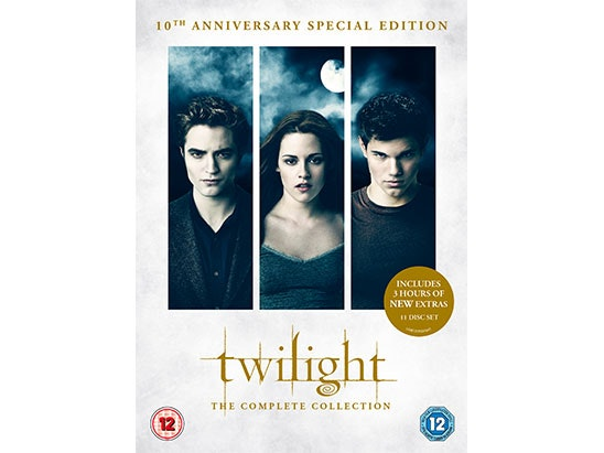 Twilight The Complete Collection: 10th Anniversary Special Edition Box Set DVD sweepstakes