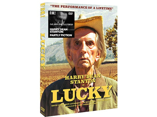 LUCKY DVD sweepstakes