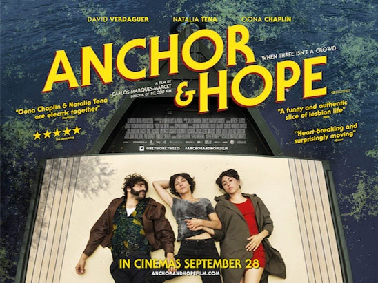 Anchor and Hope DVD and 10.000 Km DVD sweepstakes
