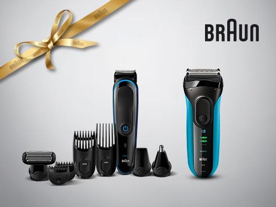Braun Geschenk-Paket zu gewinnen! Gewinnspiel