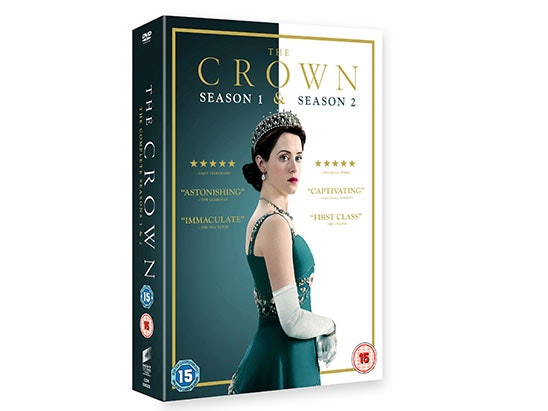 The Crown Season 1 & Season 2 Box Set DVD sweepstakes