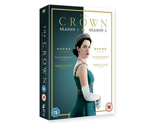 The Crown Season 1 & Season 2 Box Set DVD sweepstakes
