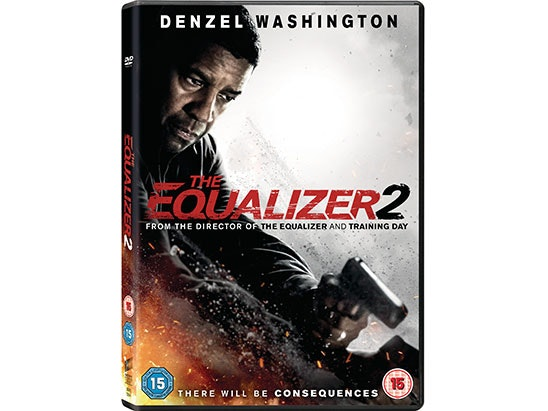 The Equalizer 2 DVD sweepstakes