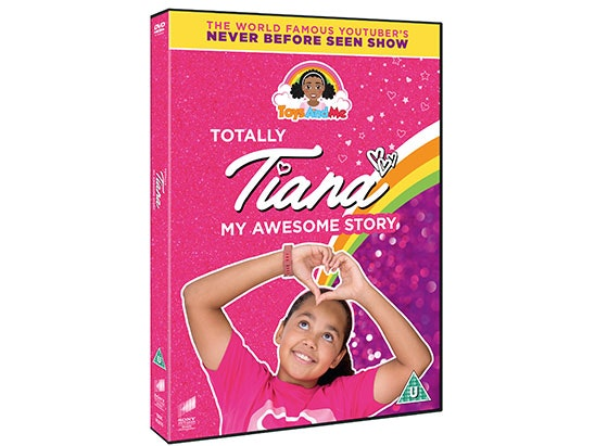 Totally Tiana My Awesome Story DVD sweepstakes