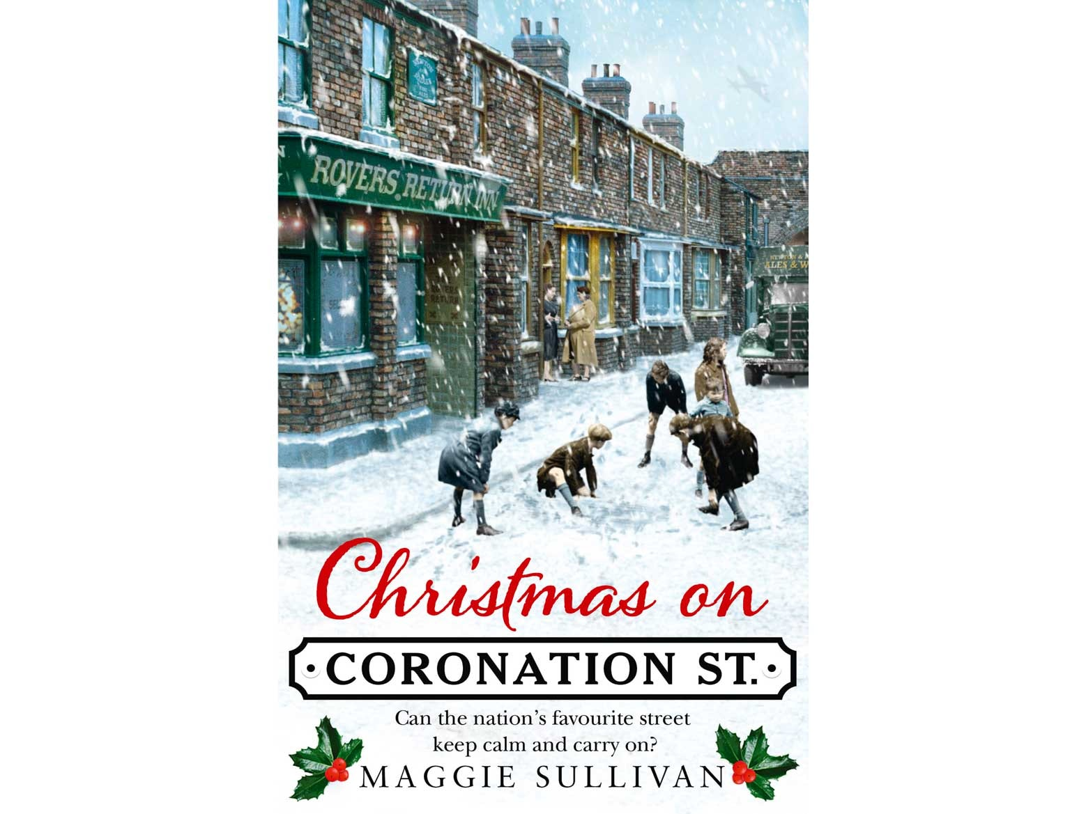 Christmas on Coronation Street by Maggie Sullivan sweepstakes