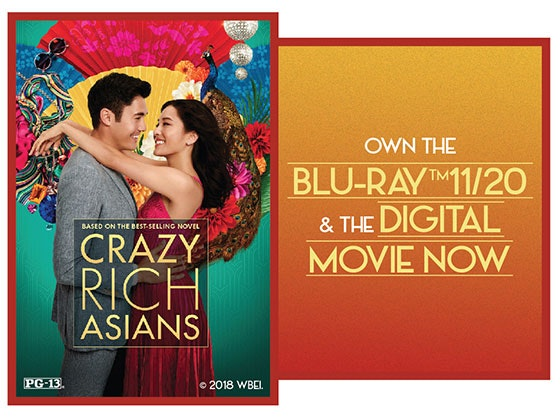Crazy Rich Asians sweepstakes
