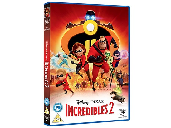 Incredibles 2 Goodies Bundle sweepstakes