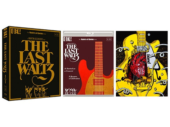 THE LAST WALTZ Blu-Ray sweepstakes